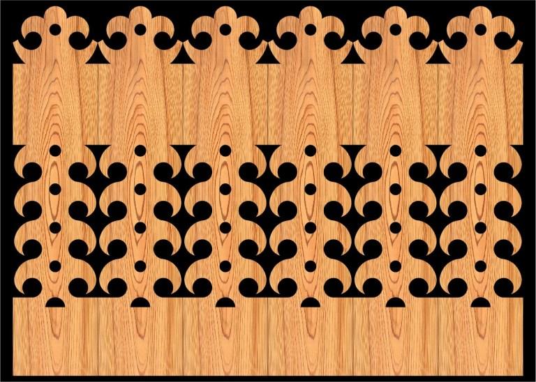 Decorative Baluster Railing 25 Pattern PDF File
