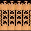 Decorative Baluster Railing 27 Pattern PDF File