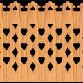 Decorative Baluster Railing 29 Pattern PDF File