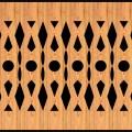 Decorative Baluster Railing 42 Pattern PDF File