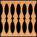 Decorative Baluster Railing 47 Pattern PDF File
