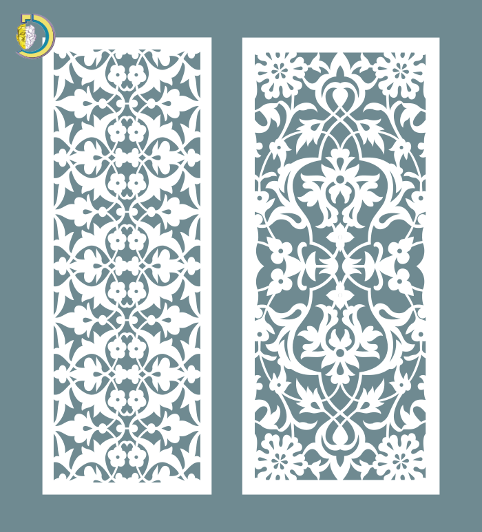 Decorative Screen Panel 02 CDR DXF Laser Cut Free Vector
