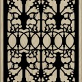 Decorative Slotted Panel 112 Pattern PDF File