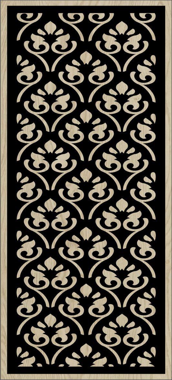 Decorative Slotted Panel 124 Pattern PDF File