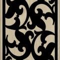 Decorative Slotted Panel 129 Pattern PDF File