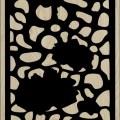 Decorative Slotted Panel 130 Pattern PDF File