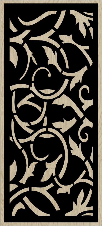 Decorative Slotted Panel 131 Pattern PDF File