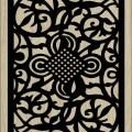 Decorative Slotted Panel 140 Pattern PDF File