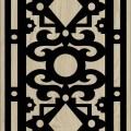 Decorative Slotted Panel 142 Pattern PDF File
