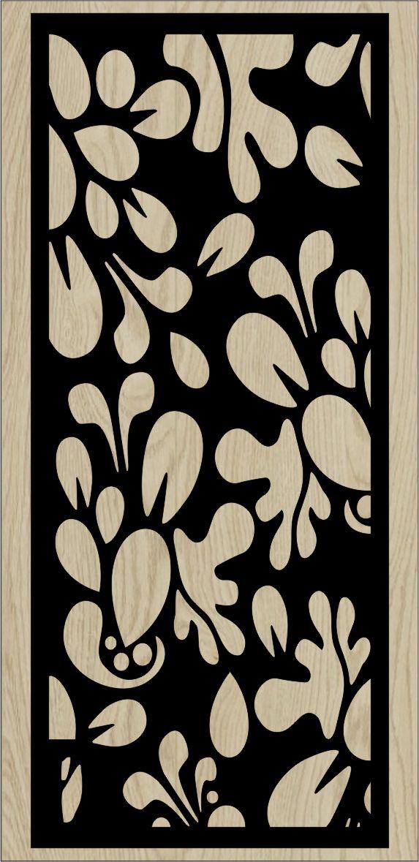 Decorative Slotted Panel 144 Pattern PDF File