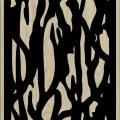 Decorative Slotted Panel 219 Pattern PDF File