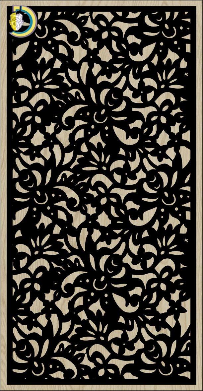 Decorative Slotted Panel 225 Pattern PDF File