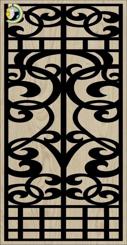 Decorative Slotted Panel 268 Pattern PDF File