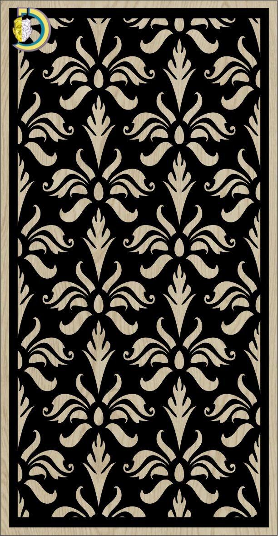 Decorative Slotted Panel 288 Pattern PDF File