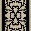 Decorative Slotted Panel 34 Pattern PDF File
