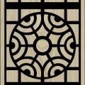 Decorative Slotted Panel 412 Pattern PDF File
