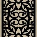 Decorative Slotted Panel 49 Pattern PDF File
