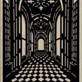 Decorative Slotted Panel 536 Pattern PDF File