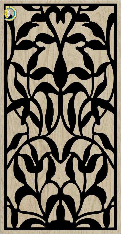 Decorative Slotted Panel 600 Pattern PDF File