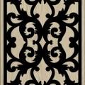 Decorative Slotted Panel 65 Pattern PDF File