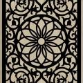 Decorative Slotted Panel 97 Pattern PDF File
