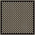 Decorative Slotted Panel 15 Pattern PDF File