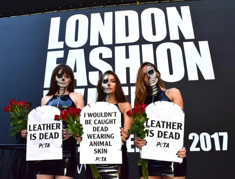 PETA Crashes Opening Event With 'Leather Is Dead' Message