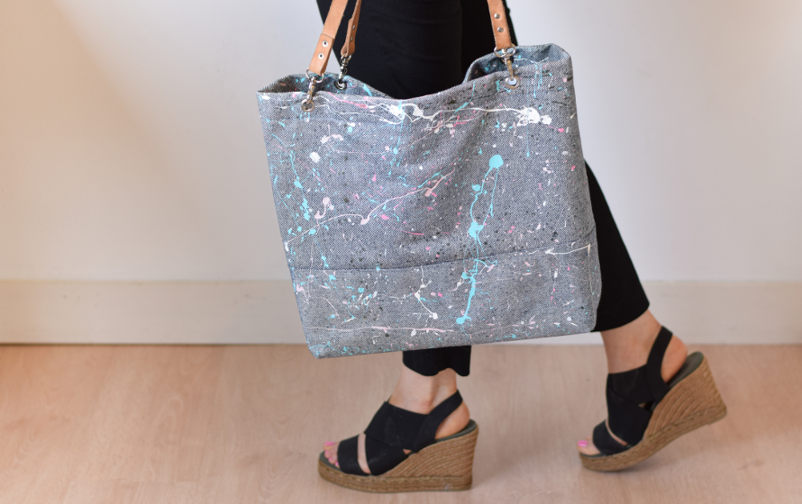 paint splatter bag