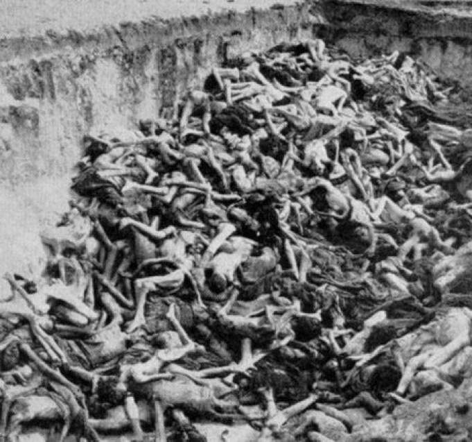 Imaginile despre lagărele naziste crează oroare