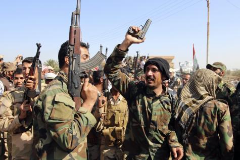 Ofensivă de amploare pentru recucerirea oraşului Tikrit