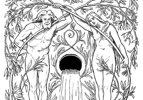 Pădurea legendară Hoddmimir