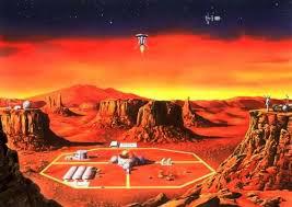 Colonia de pe Marte a extratereştrilor (3)
