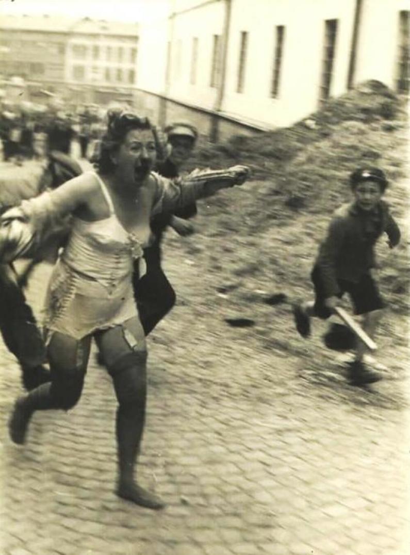 Umilirea unei femei evreice în Varşovia