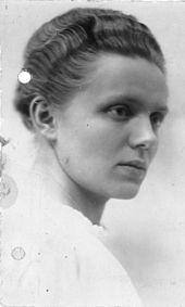 Marga Siegroth în 1918. Sursă Wikipedia.