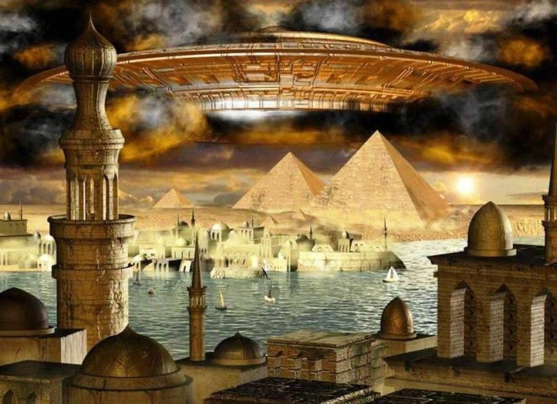 ozn la piramide