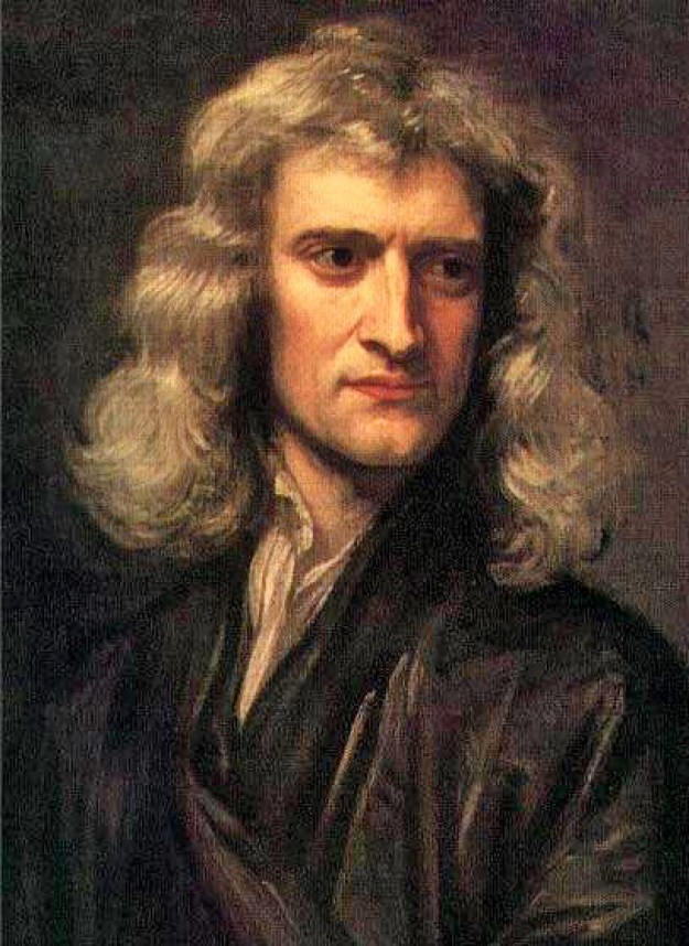 Copie după o pictură de Sir Godfrey Kneller realizată de Barrington Bramley. Această lucrare se găseşte la Institute for Mathematical Sciences, University of Cambridge. Sursă Wikipedia.