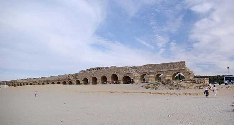 Casareea, un oraş fondat în onoarea împăratului August