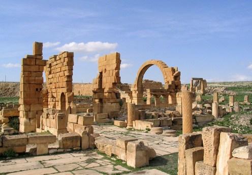 Fortăreaţa bizantină din Haidra