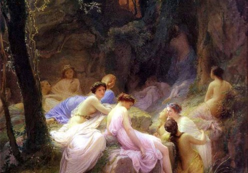Nymphs_Listening_To_The_Songs_of_Orpheus,_by_Charles_François_Jalabert