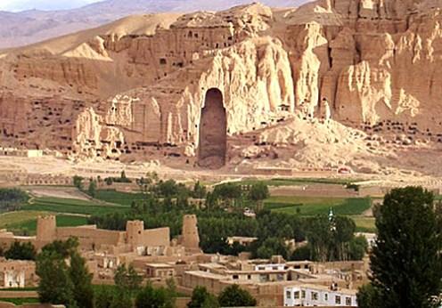 O pictură din mitologia persană a fost scoasă la lumina zilei la Bamiyan de arheologi japonezi