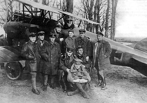 OZN-uri in 1917 in lume