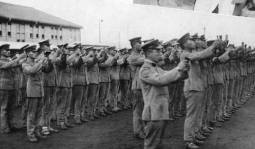 Revenirea militarismului japonez 2