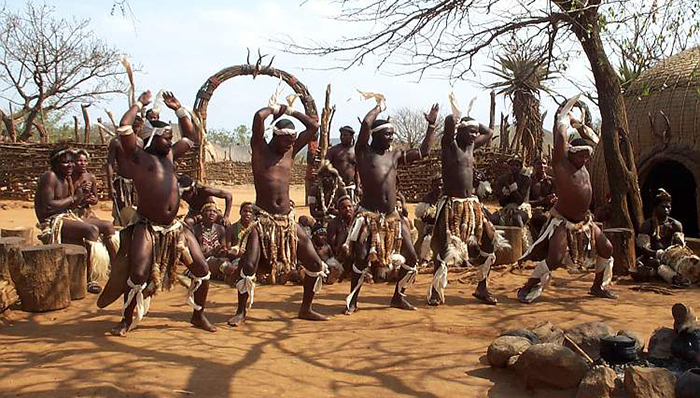 Un popor misterios zulu
