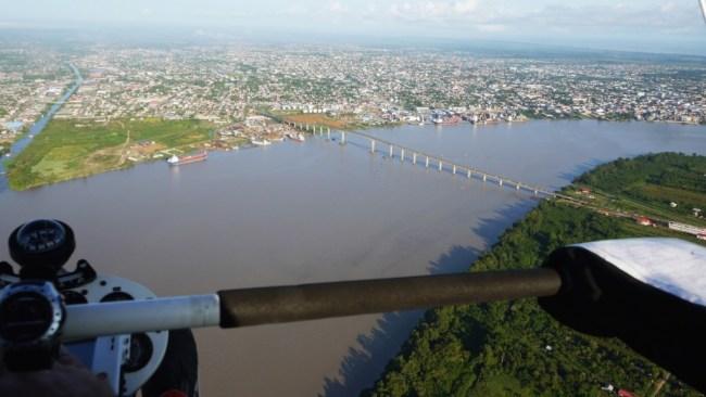Suriname - Land Nummer 18 auf der langen Liste der Trike Globetrotter