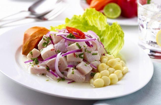 Ceviche - das peruanische NationalgerichtQuelle: Cookdiary.net http://goo.gl/69vz4q
