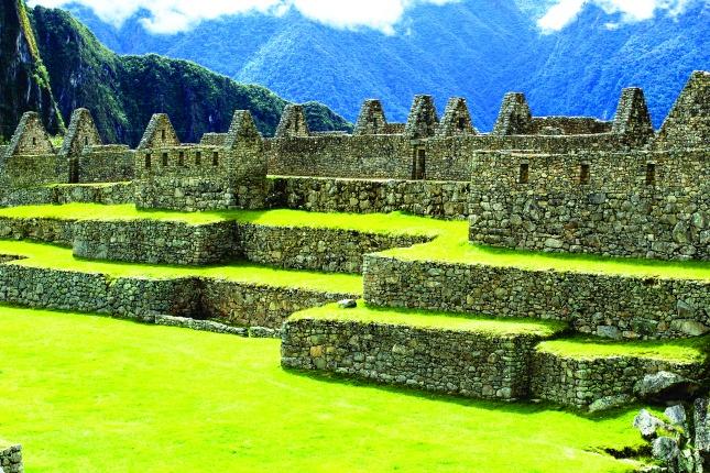 Die Ruinenstadt Choquequira hat einen ähnlichen Aufbau wie die berühmteste Inkastätte Machu Picchu