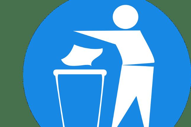Keinen Müll wählen oder keinen Müll jenseits der Eimer wegschmeißen? In jedem Fall eine gute Wahl.
