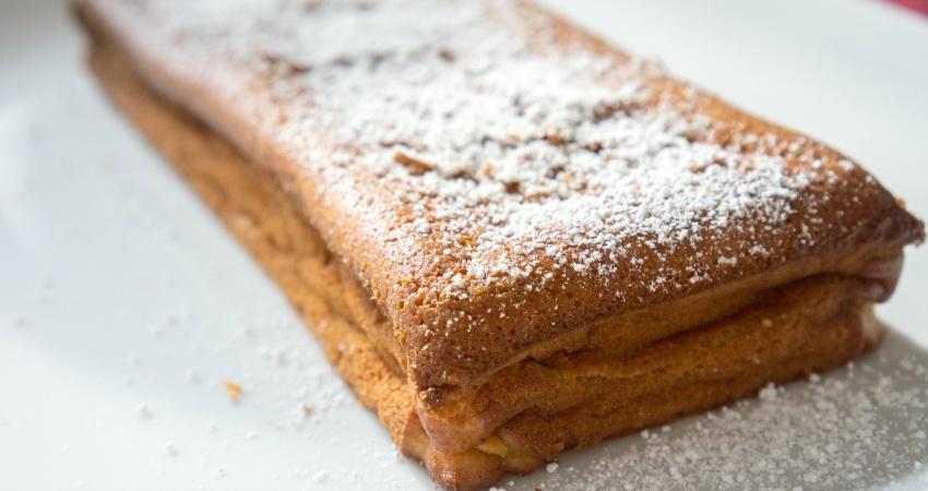 ...und fertig ist der Maracuja Kuchen!