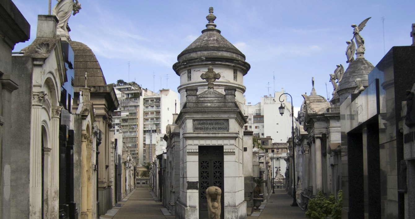 Der Recoleta Friedhof in Buenos Aires zählt zu den schönsten der Welt! Quelle: Wikimedia