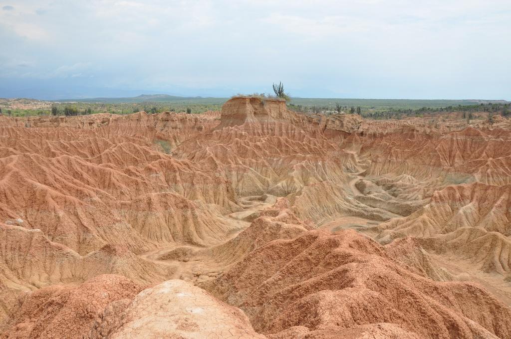Kolumbien Sehenswürdigkeiten: Tatacoa Wüste. Quelle: Flickr.